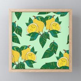 Sourpuss Pattern Framed Mini Art Print