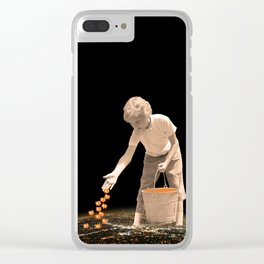 You're going to reap just what you sow Clear iPhone Case