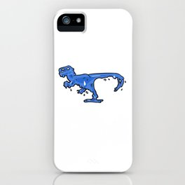 Gelociraptor iPhone Case