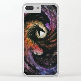 Dragon Galaxy Clear iPhone Case
