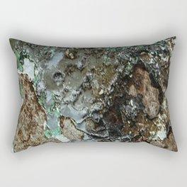 Weathered Iron rustic decor Rectangular Pillow