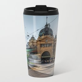 flinders station Travel Mug
