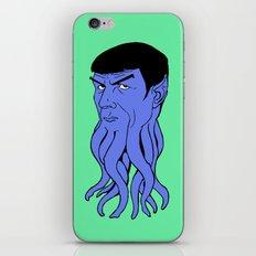 Mr Spocktopus iPhone & iPod Skin
