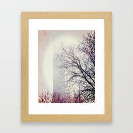 Go Back In Time Framed Art Print
