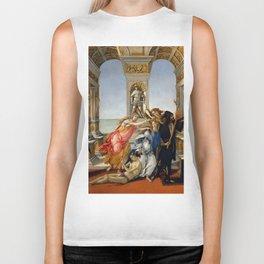 "Sandro Botticelli ""The Calumny of Apelles"" Biker Tank"