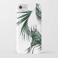 palms iPhone & iPod Cases featuring Palms by Rachel De Vita