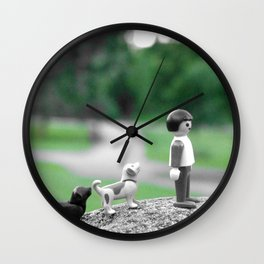 a day in the park Wall Clock