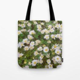 Daisies In Spring Tote Bag
