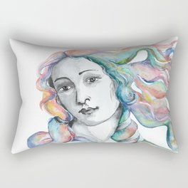 Venus Portrait Rectangular Pillow
