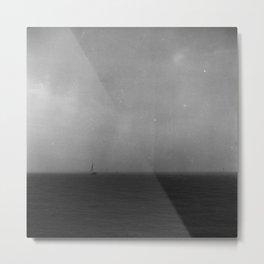 Sailing through a Storm Metal Print