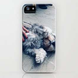 The Belly Rub iPhone Case