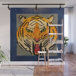 Fear The Tiger Wall Mural