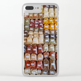 spicy Clear iPhone Case