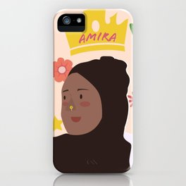 Amira Mahmood iPhone Case