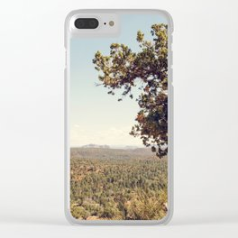 Sedona Skies II Clear iPhone Case