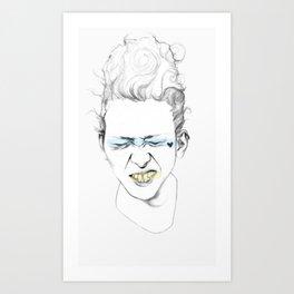 Yellow Tooth Art Print