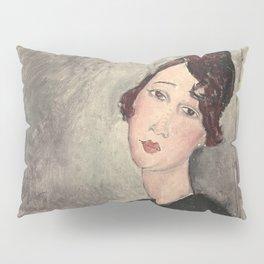 Portrait of Dedie Hayde by Amedeo Modigliani Pillow Sham