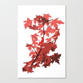Tree Sitting Canvas Print