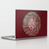 ganesha Laptop & iPad Skins featuring Ganesha by Sincronizarte