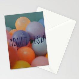 Adult-ish balls Stationery Cards
