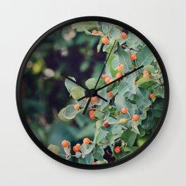 Honeysuckle Wall Clock