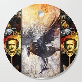 Edgar Allan Poe Cutting Board