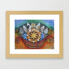 Cosmic Eye II Framed Art Print