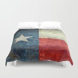 Texas flag Duvet Cover