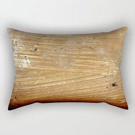 First hand plaster painting Rectangular Pillow