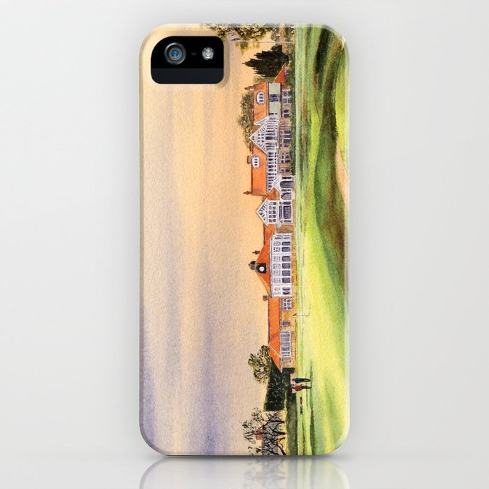 Muirfield Golf Course 18th Green iPhone Case