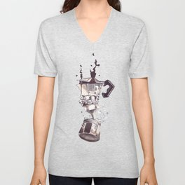 If all else fails, Coffee! Unisex V-Neck