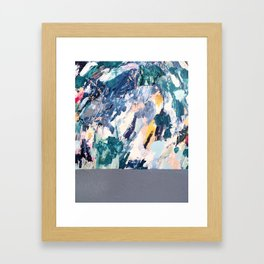 half life.  Framed Art Print