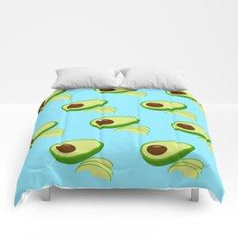 Avocado Fruit Comforters