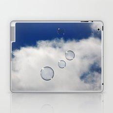 Floating Bubbles Laptop & iPad Skin