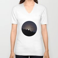 moonrise V-neck T-shirts featuring Moonrise by Concept of the Good