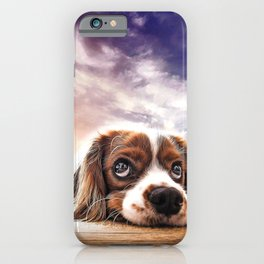 A gorgeous sleepy puppy iPhone Case