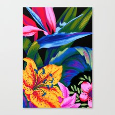 Let's Go Abstract Canvas Print