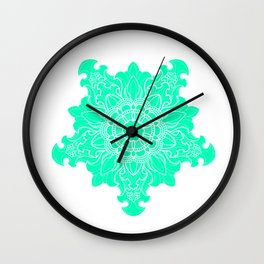 Tibetan Filigree v5 Wall Clock