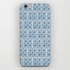 Blue Tile Pattern No. 3 iPhone & iPod Skin