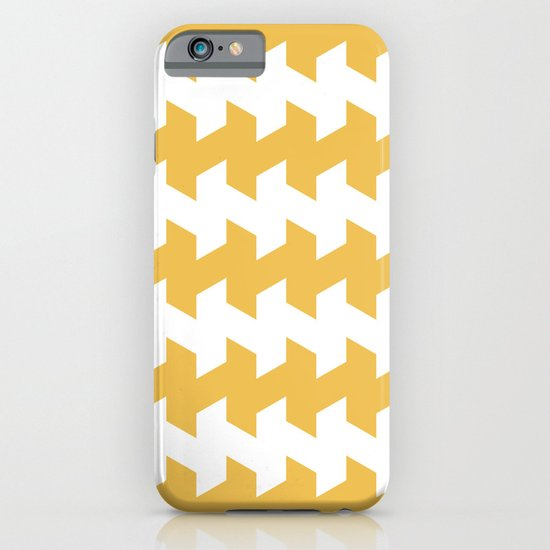 jaggered and staggered in mimosa iPhone & iPod Case
