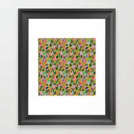 Cool summer in the mustard Framed Art Print
