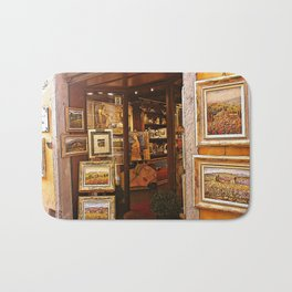 Italy Tuscany Art Gallery. Bath Mat