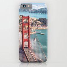 golden gate bridge in san francisco iPhone 6s Slim Case