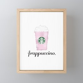 Frappuccino Framed Mini Art Print