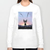 punisher Long Sleeve T-shirts featuring Punisher Kid by Andy Fairhurst Art