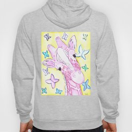 Denae's Giraffe (Commission will be donated to her funeral expenses) Hoody