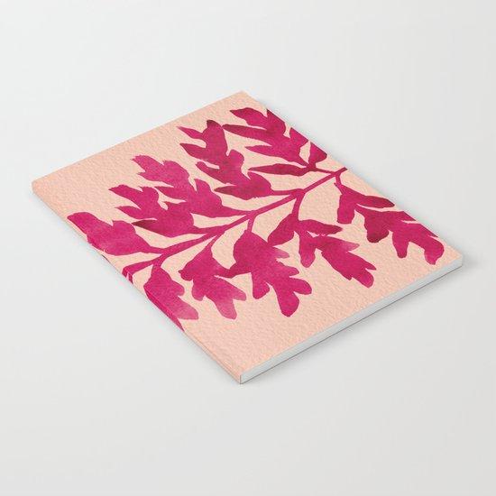 Pink Fern Notebook