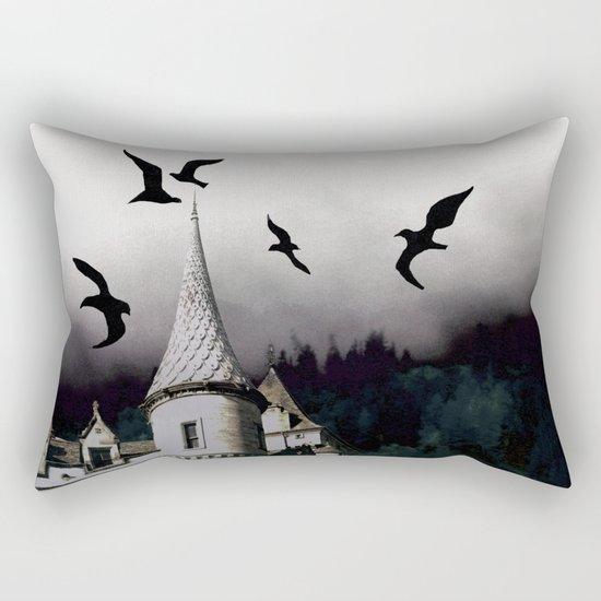 The house of Nevermore Rectangular Pillow