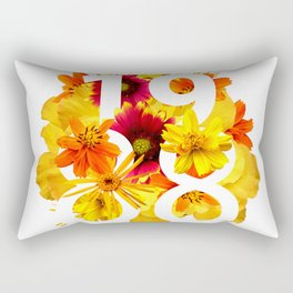 Flower 1988 Rectangular Pillow