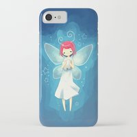 tooth iPhone & iPod Cases featuring Tooth Fairy by Freeminds